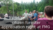citizen forester outing